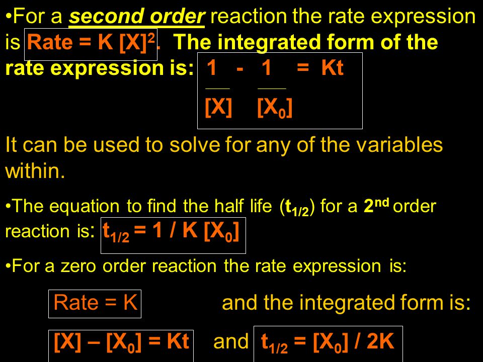 It can be used to solve for any of the variables within.