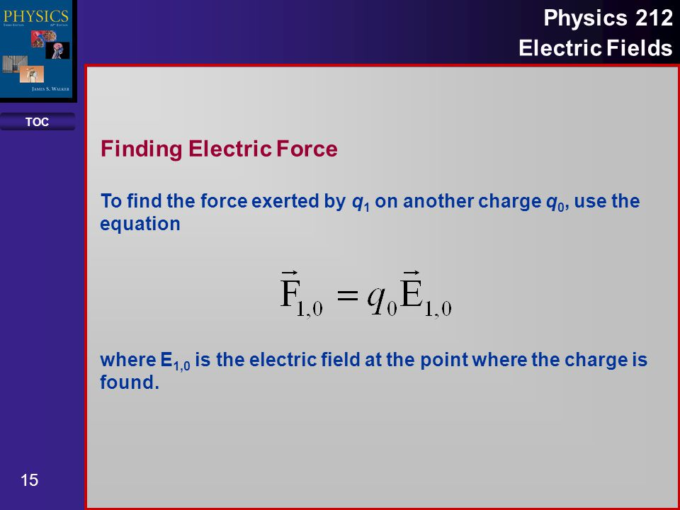 Finding Electric Force