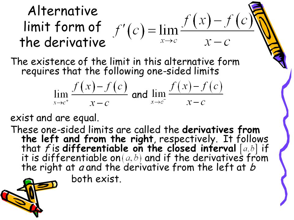 THE DERIVATIVE AND THE TANGENT LINE PROBLEM - ppt video online ...