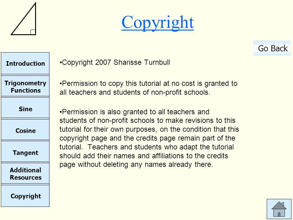 Copyright Copyright 2007 Sharisse Turnbull