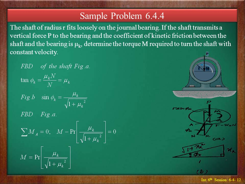 Sample Problem 6.4.4