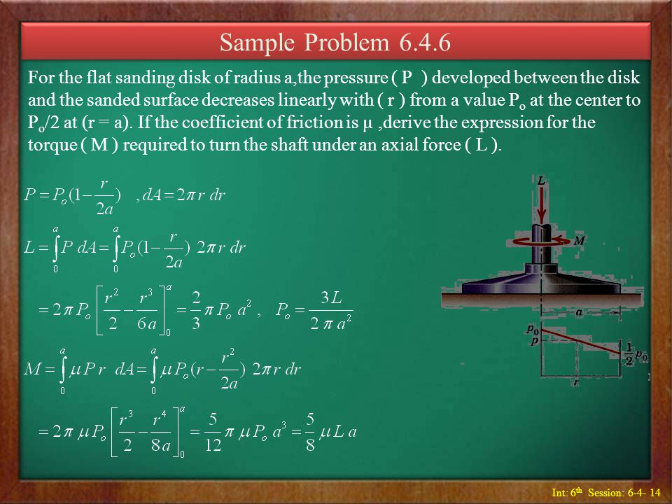 Sample Problem 6.4.6