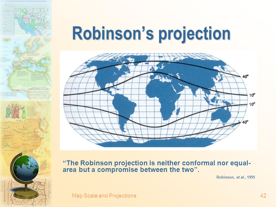 Robinson's projection