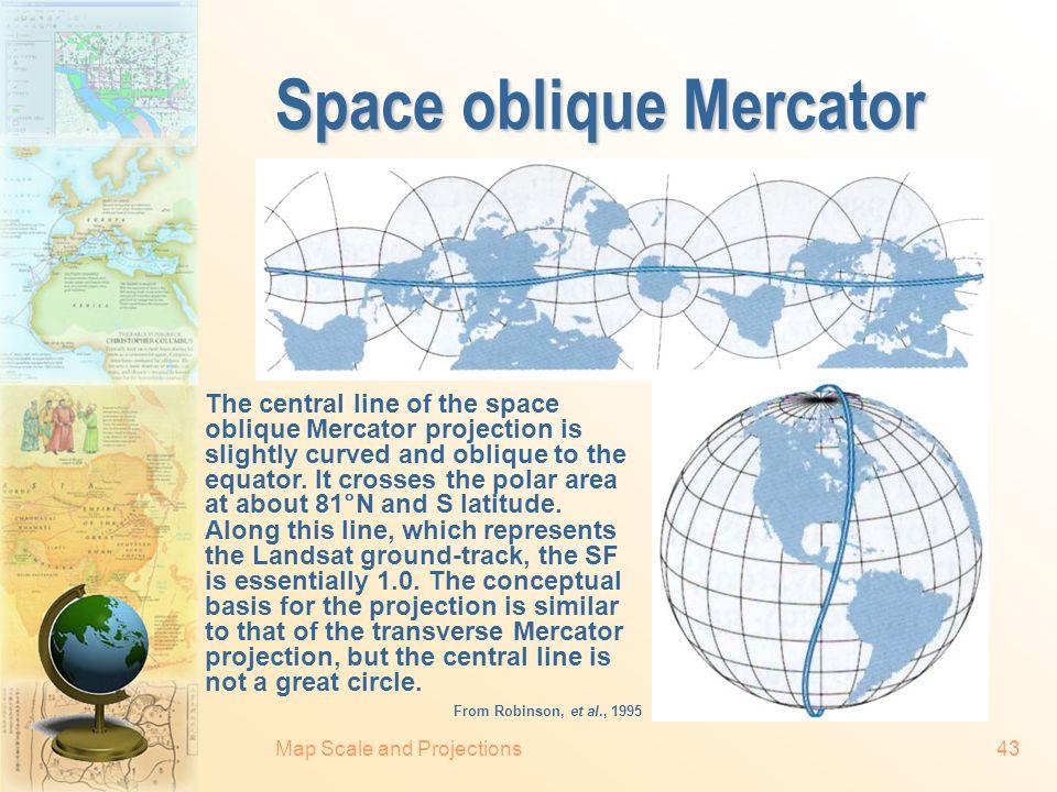 Space oblique Mercator