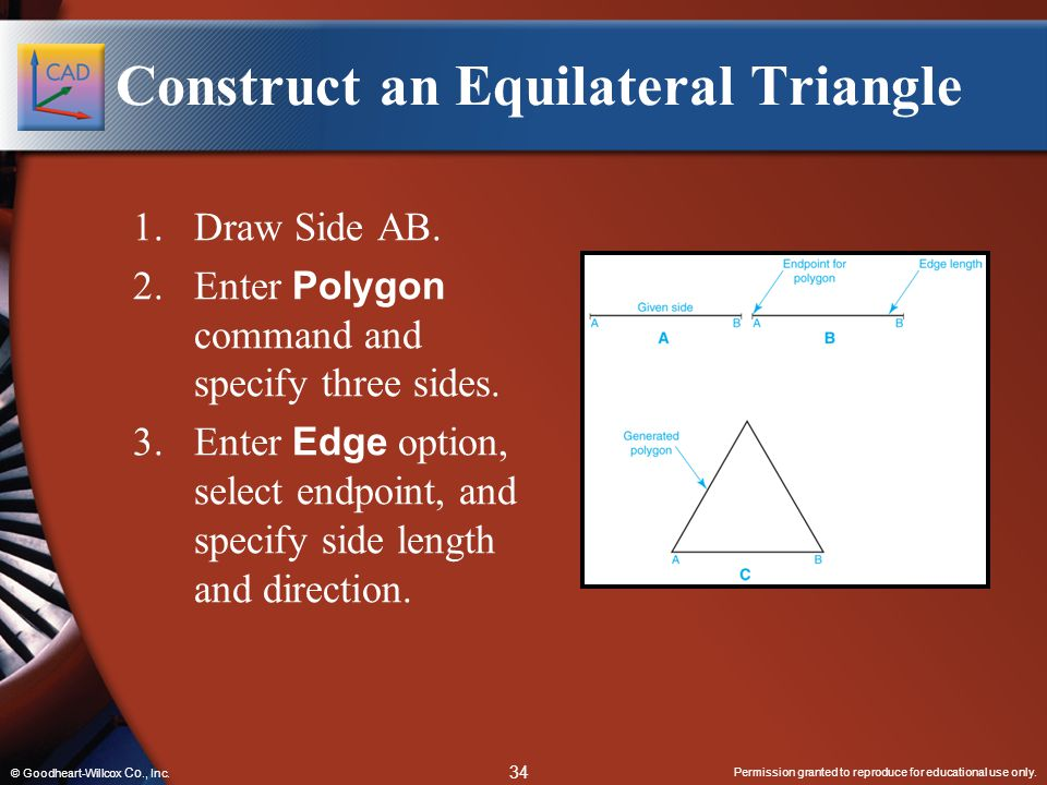 Construct an Equilateral Triangle
