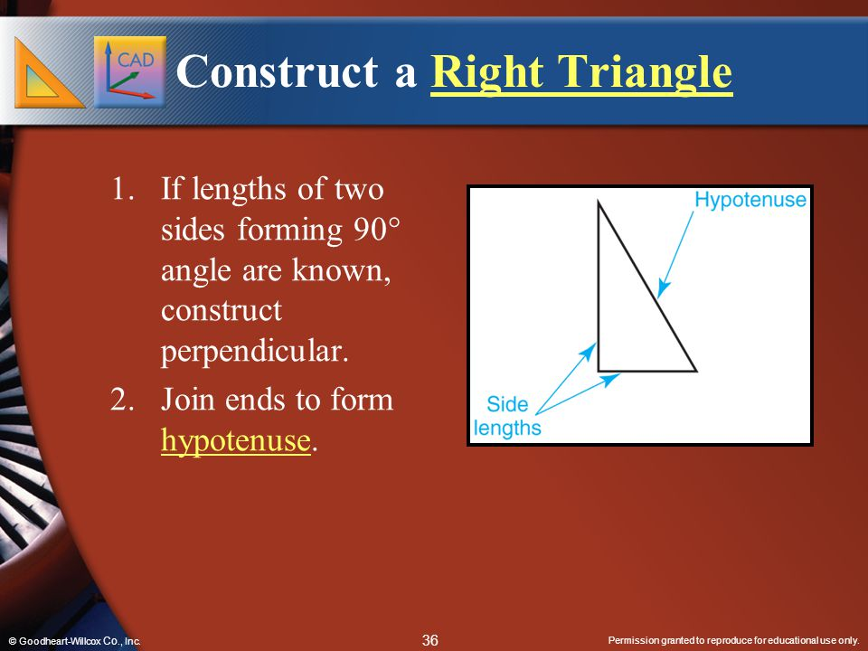 Construct a Right Triangle