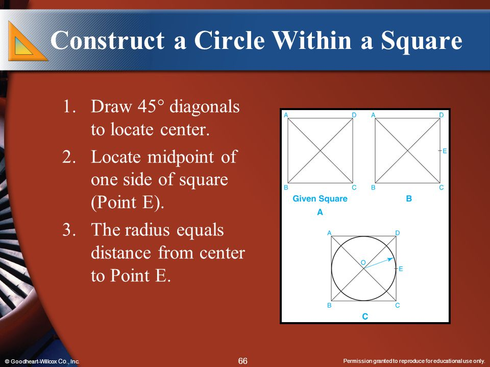 Construct a Circle Within a Square