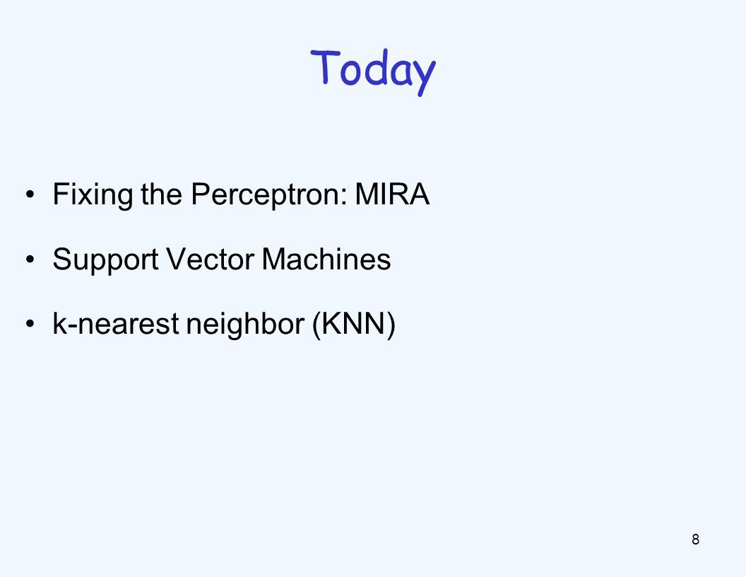 Properties of Perceptrons