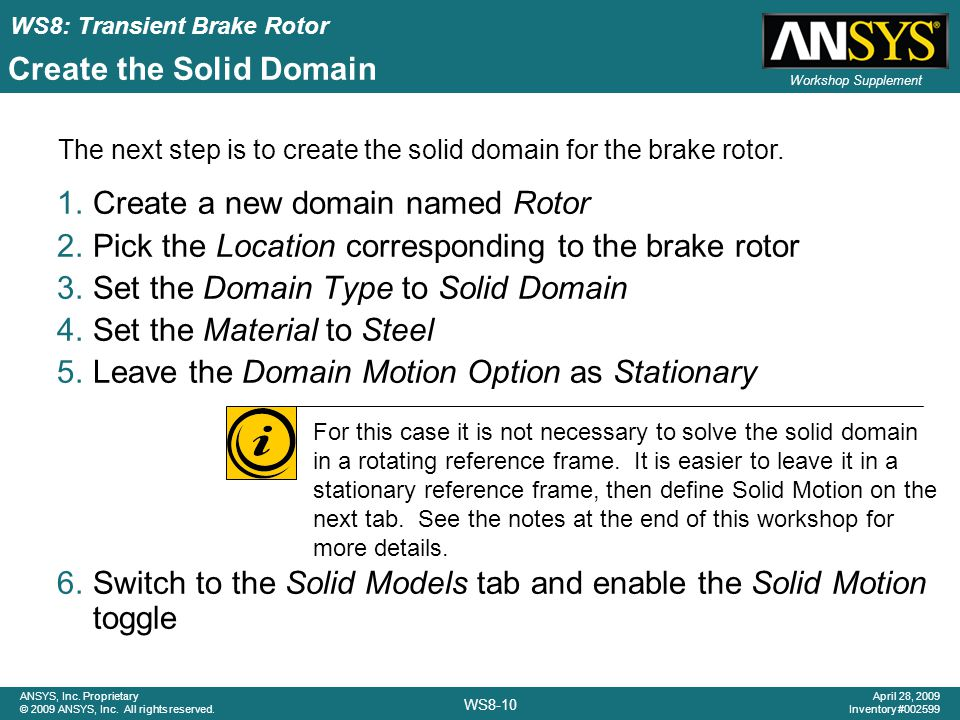 Create the Solid Domain