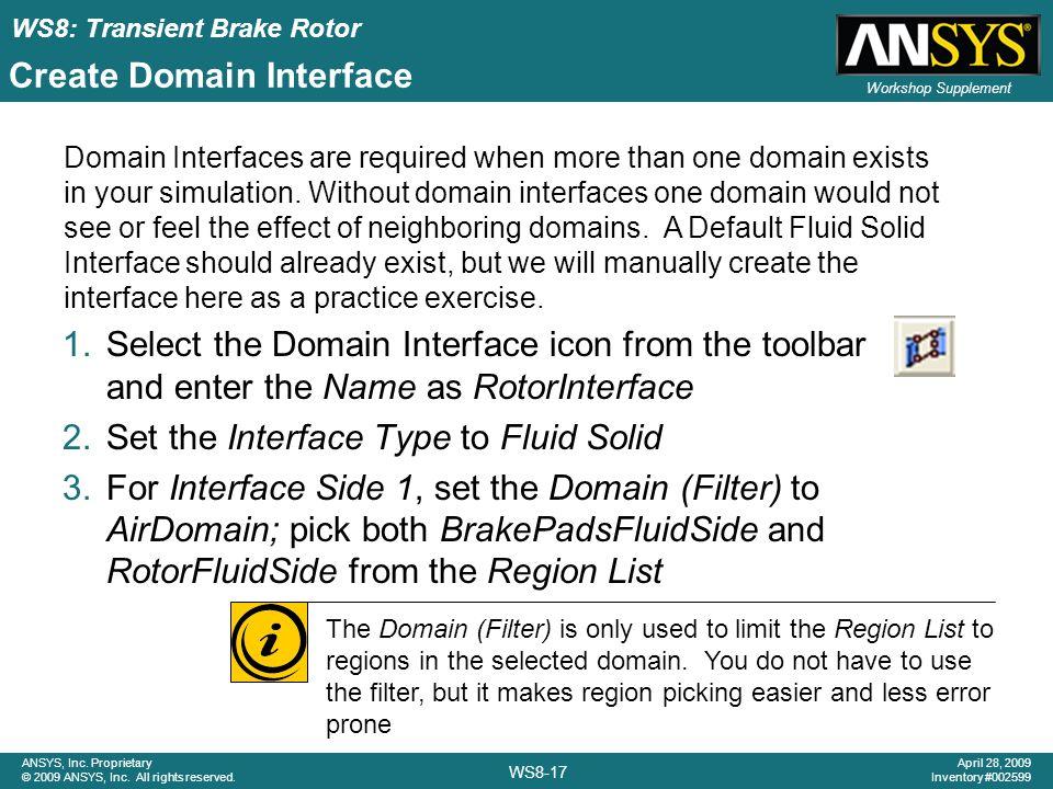 Create Domain Interface