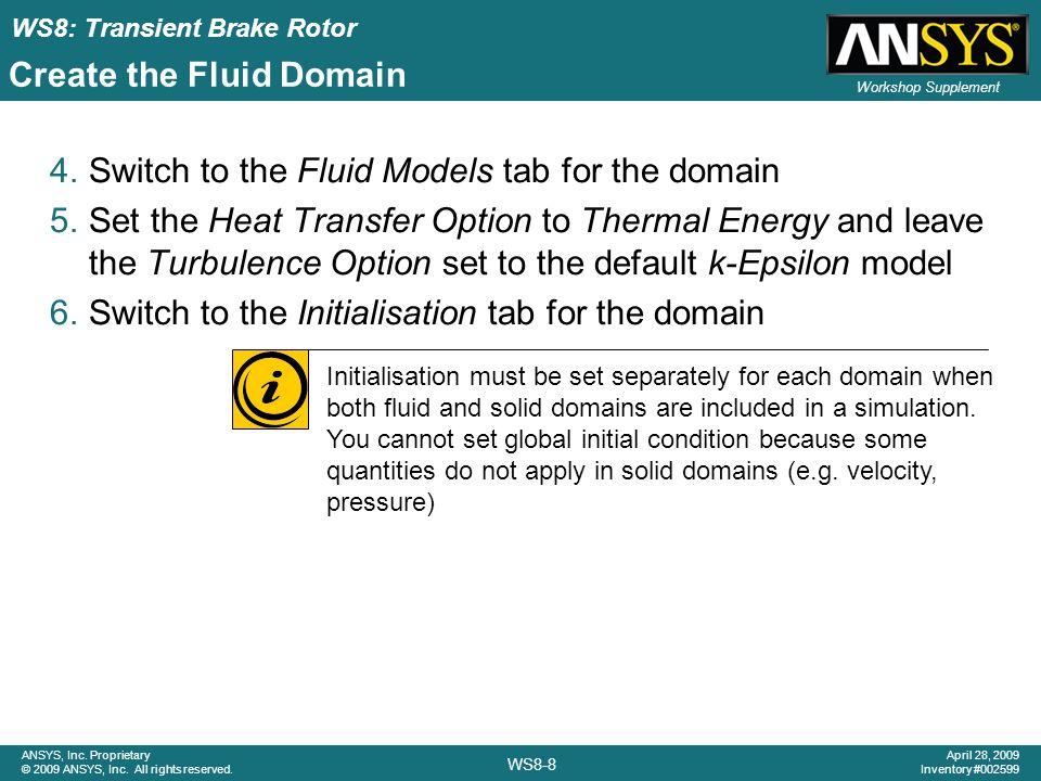 Create the Fluid Domain