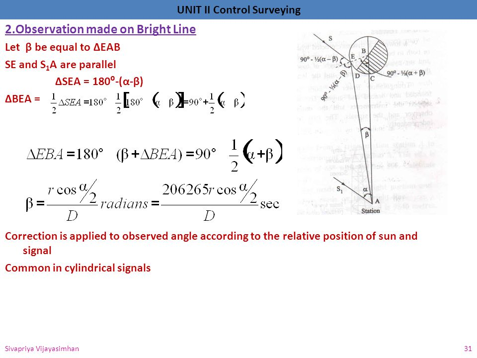 2.Observation made on Bright Line