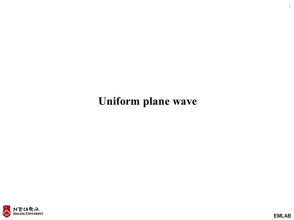 Uniform plane wave