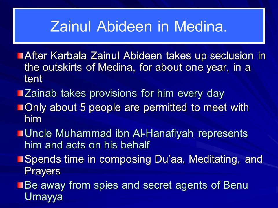 Zainul Abideen in Medina.