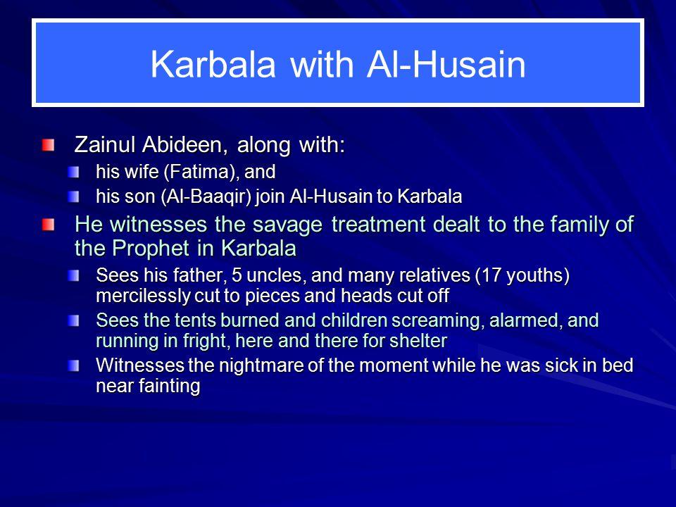 Karbala with Al-Husain