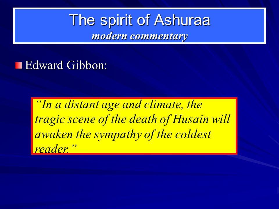 The spirit of Ashuraa modern commentary