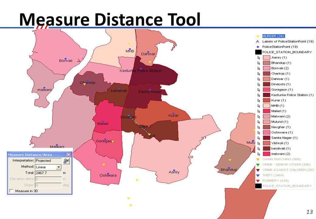 Measure Area Tool
