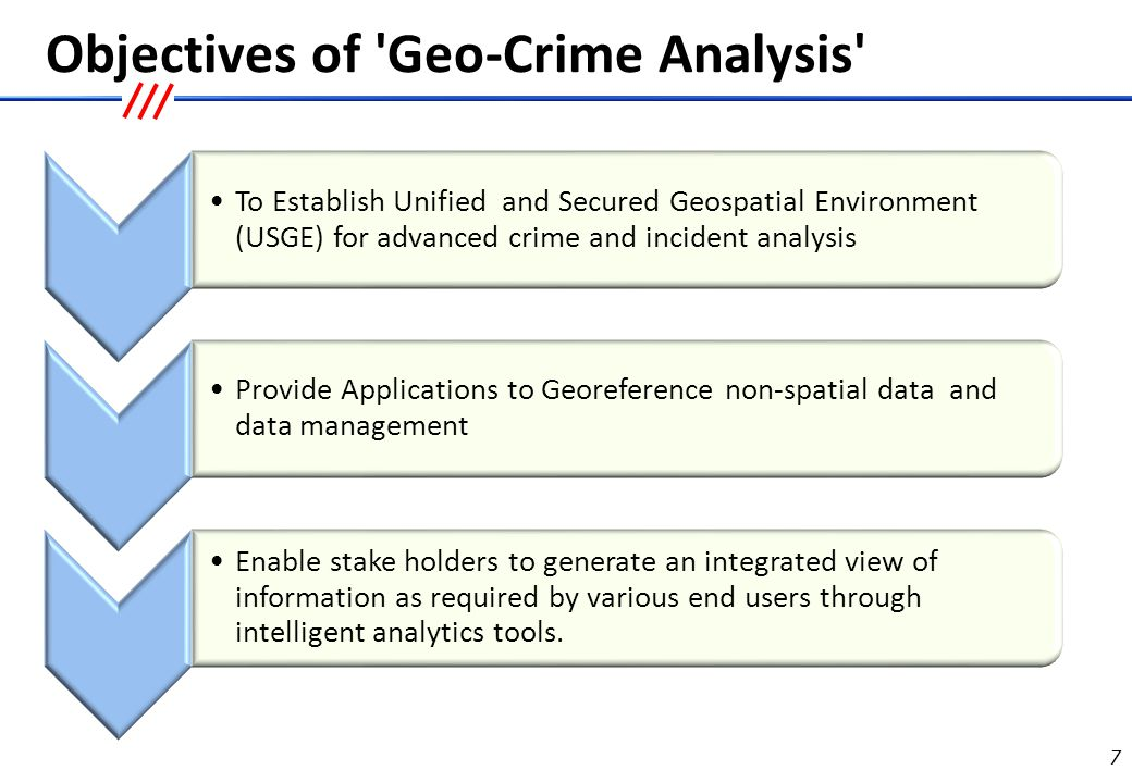 Stakeholders in the Geo-Crime Analysis Devp Project