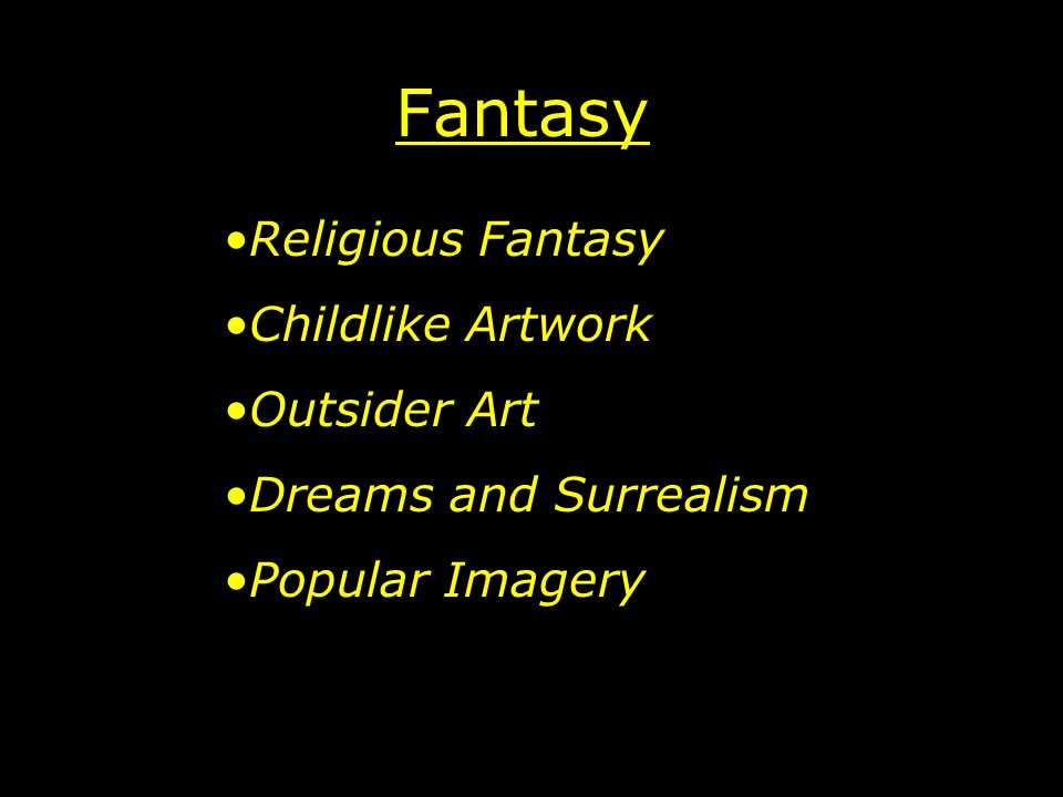 Fantasy Religious Fantasy Childlike Artwork Outsider Art