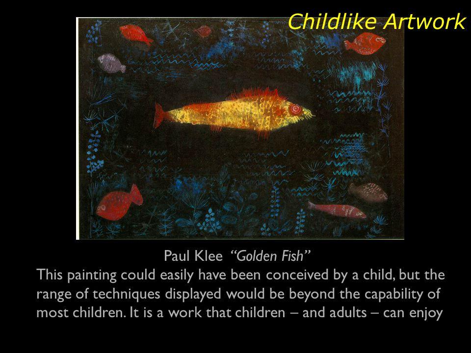 Paul Klee Golden Fish