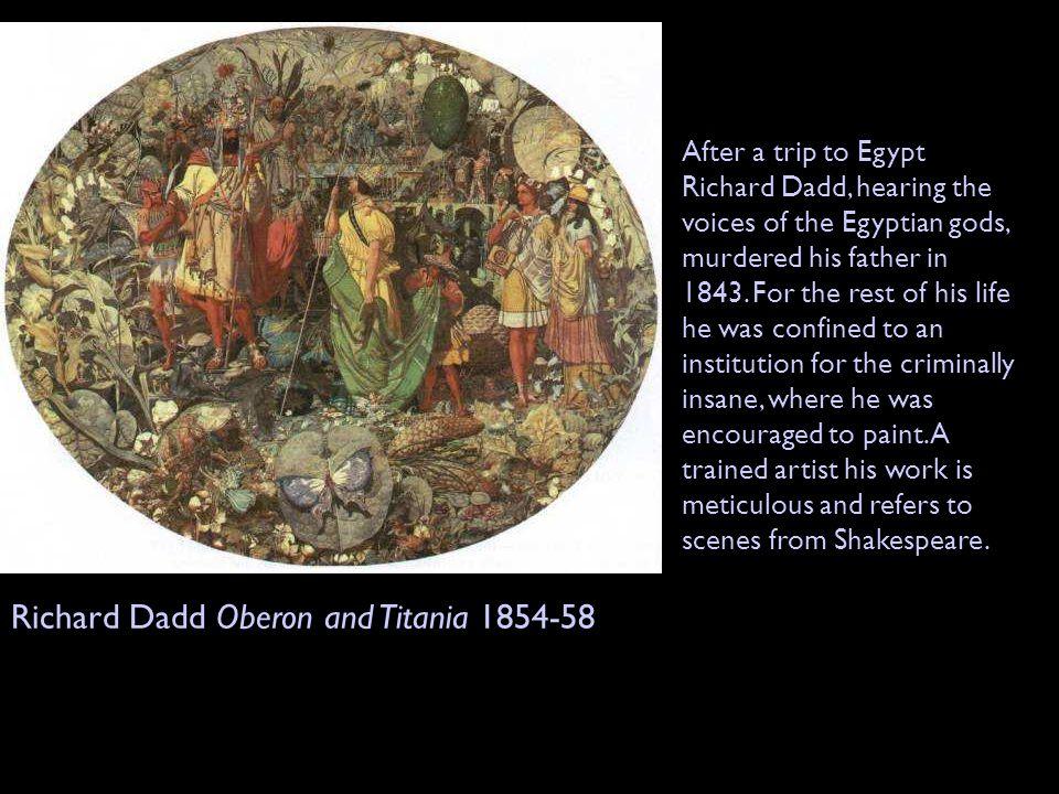 Richard Dadd Oberon and Titania 1854-58