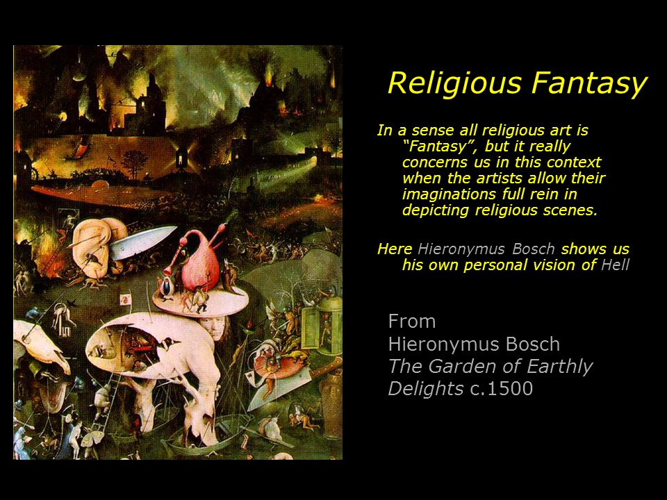 Religious Fantasy From Hieronymus Bosch