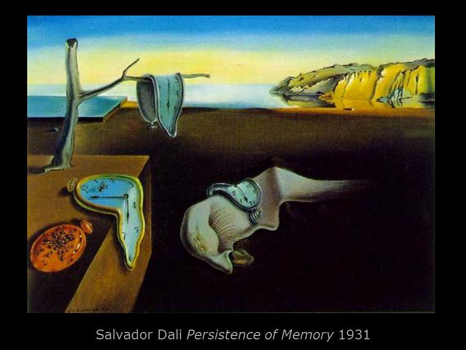 Salvador Dali Persistence of Memory 1931