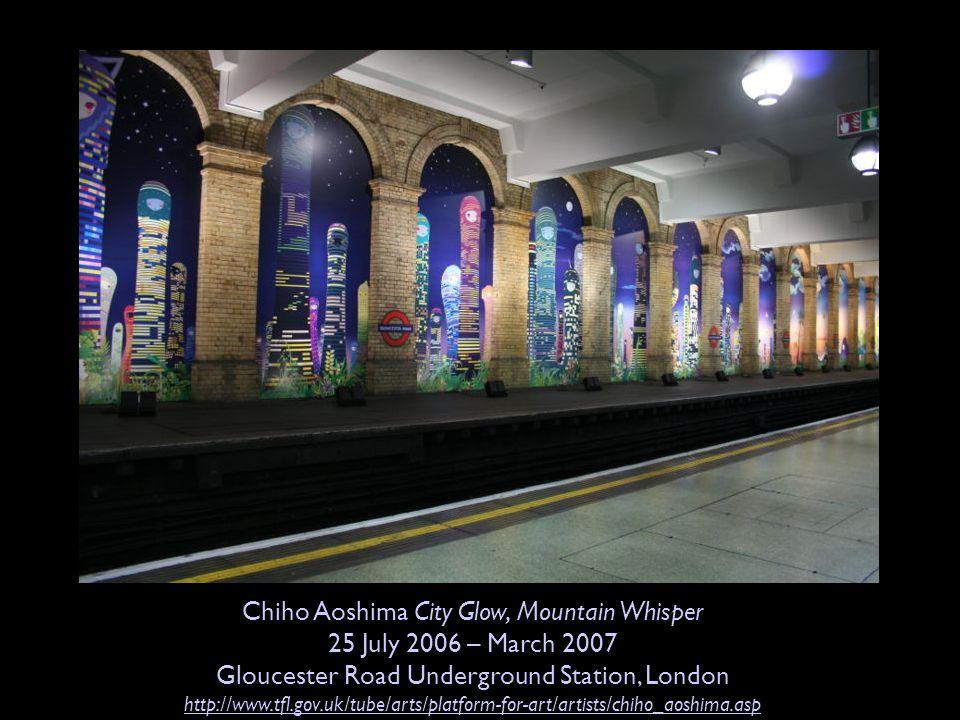 Chiho Aoshima City Glow, Mountain Whisper 25 July 2006 – March 2007