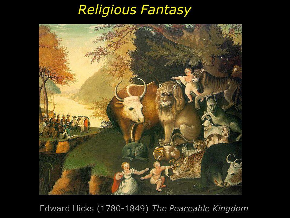 Edward Hicks (1780-1849) The Peaceable Kingdom