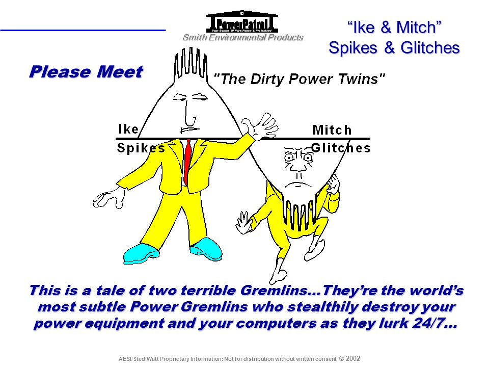 Ike & Mitch Spikes & Glitches