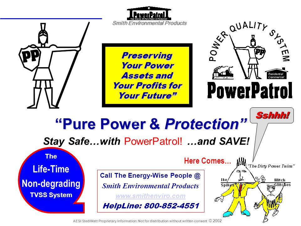 Pure Power & Protection