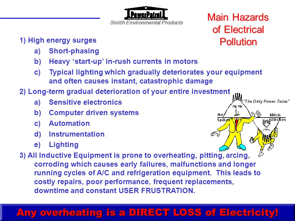 Main Hazards of Electrical Pollution