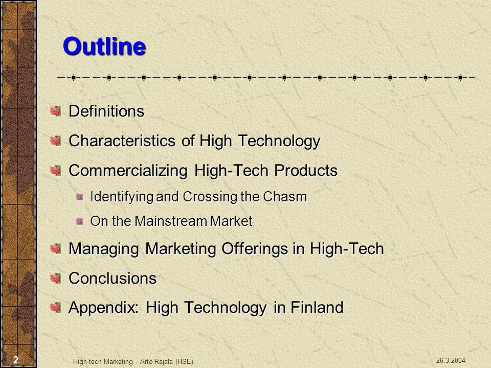 High-tech Marketing - HUT