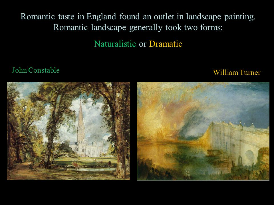 Naturalistic or Dramatic