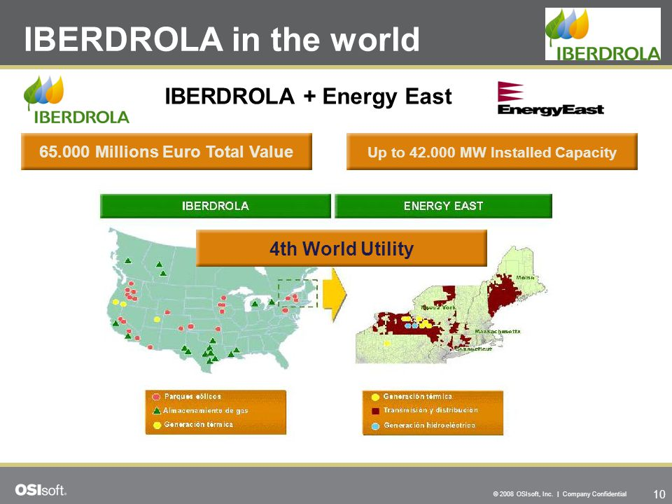 65.000 Millions Euro Total Value Up to 42.000 MW Installed Capacity
