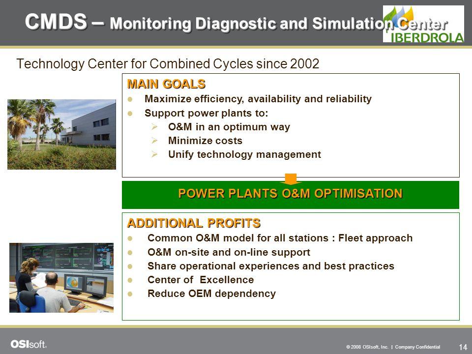 CMDS – Monitoring Diagnostic and Simulation Center