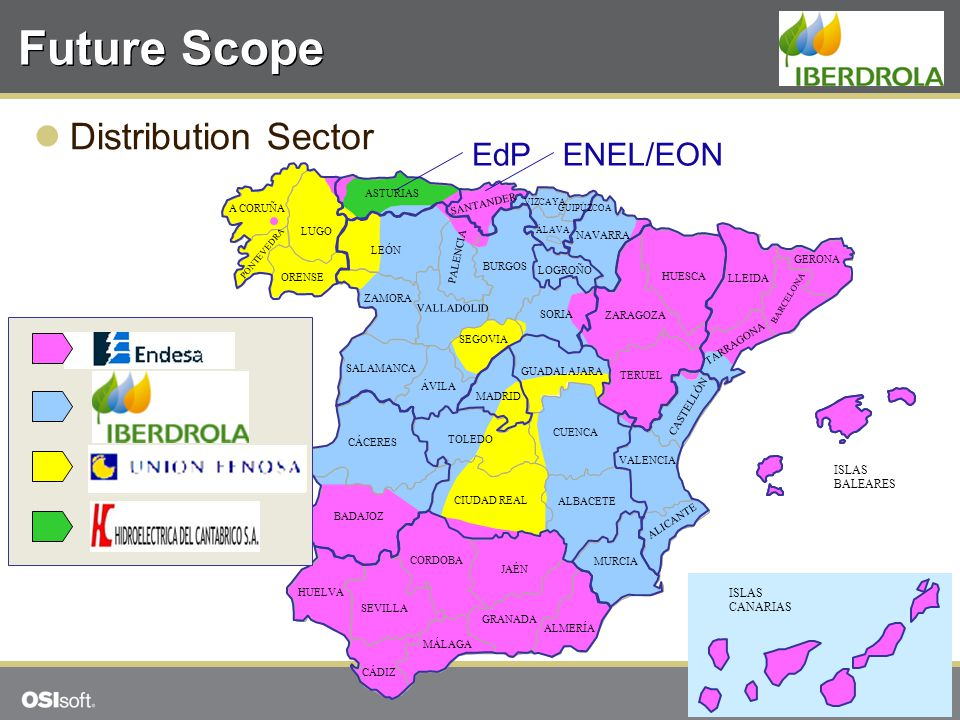 Future Scope Distribution Sector EdP ENEL/EON 4949 ISLAS BALEARES