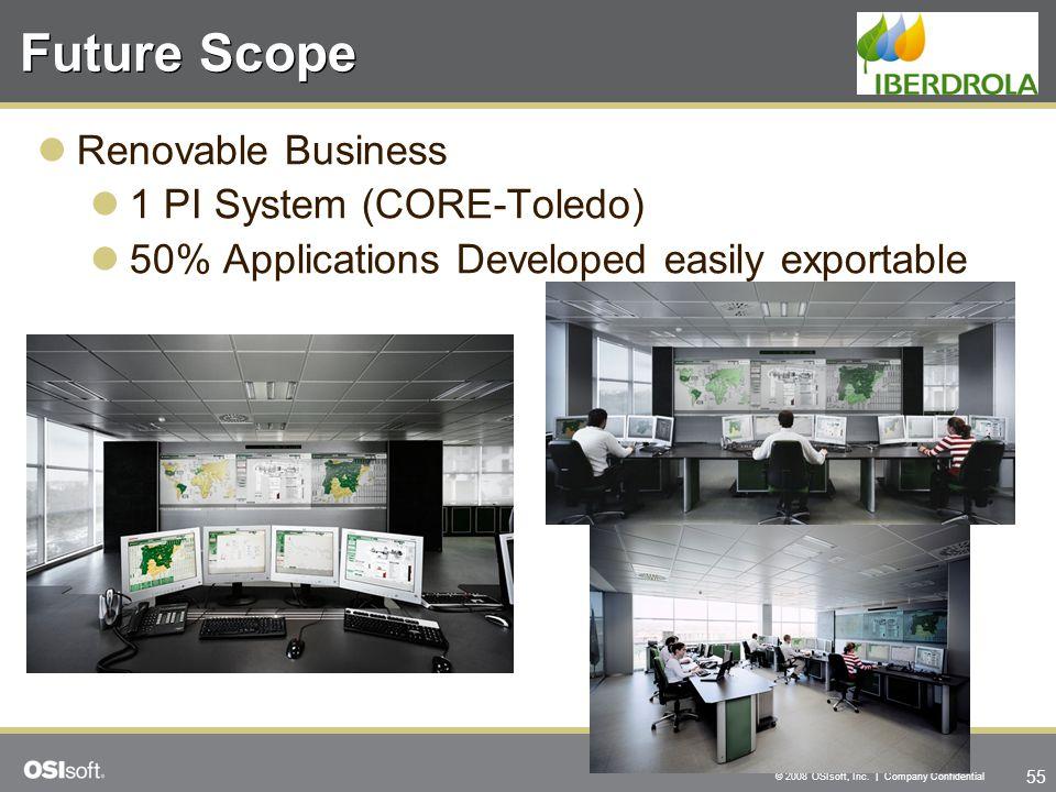 Future Scope Renovable Business 1 PI System (CORE-Toledo)