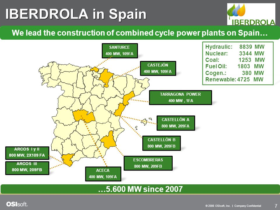 We lead the construction of combined cycle power plants on Spain…