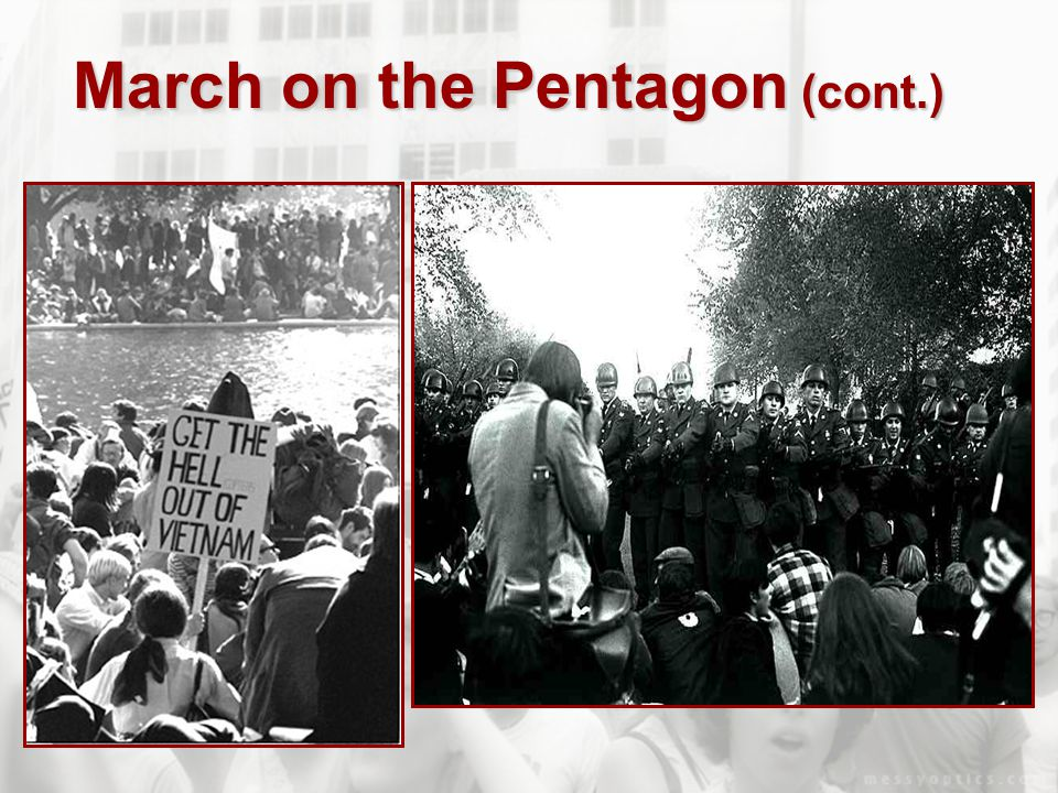 March on the Pentagon (cont.)