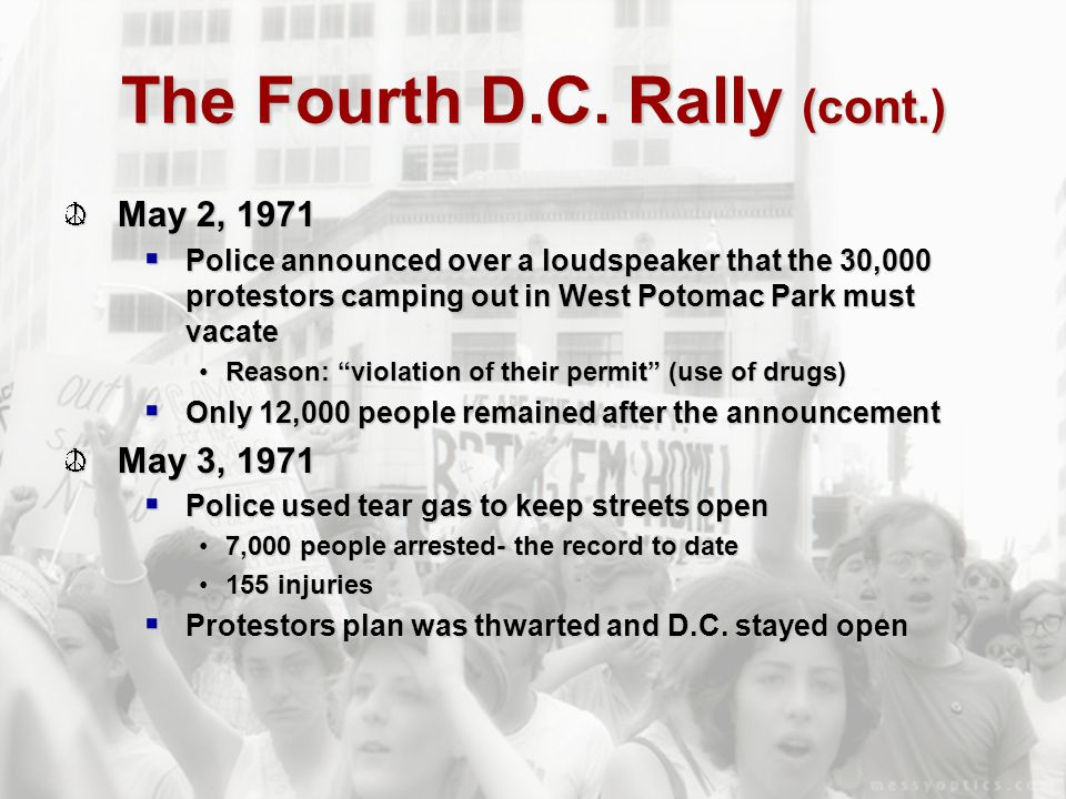 The Fourth D.C. Rally (cont.)