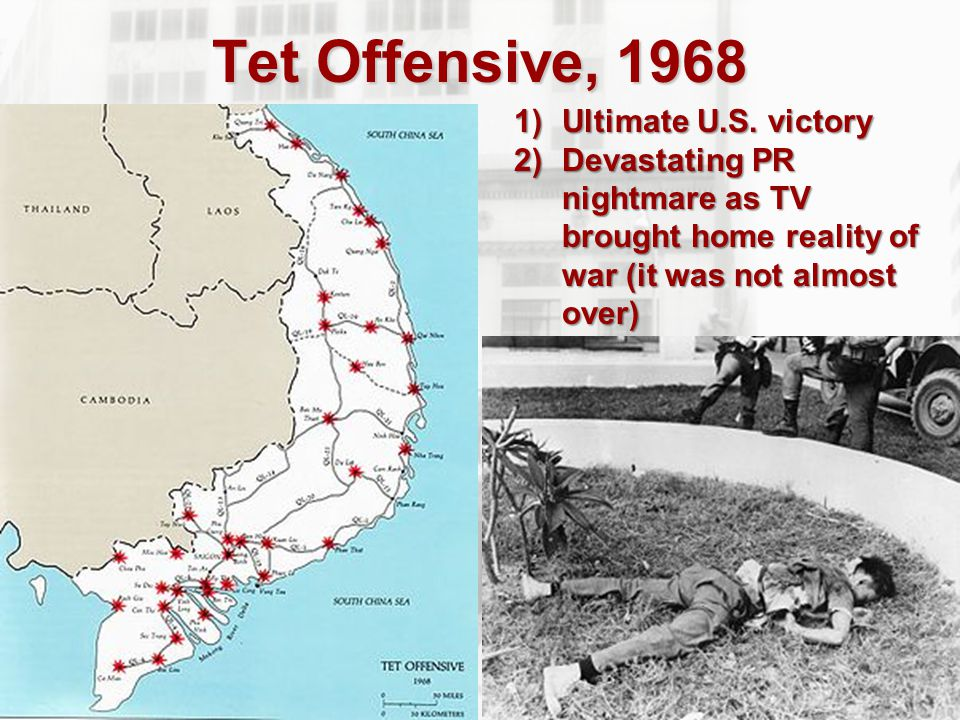 Tet Offensive, 1968 Ultimate U.S. victory