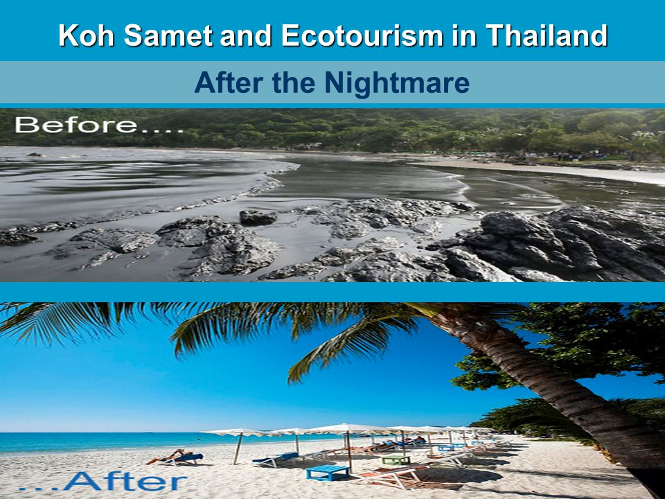 Koh Samet and Ecotourism in Thailand