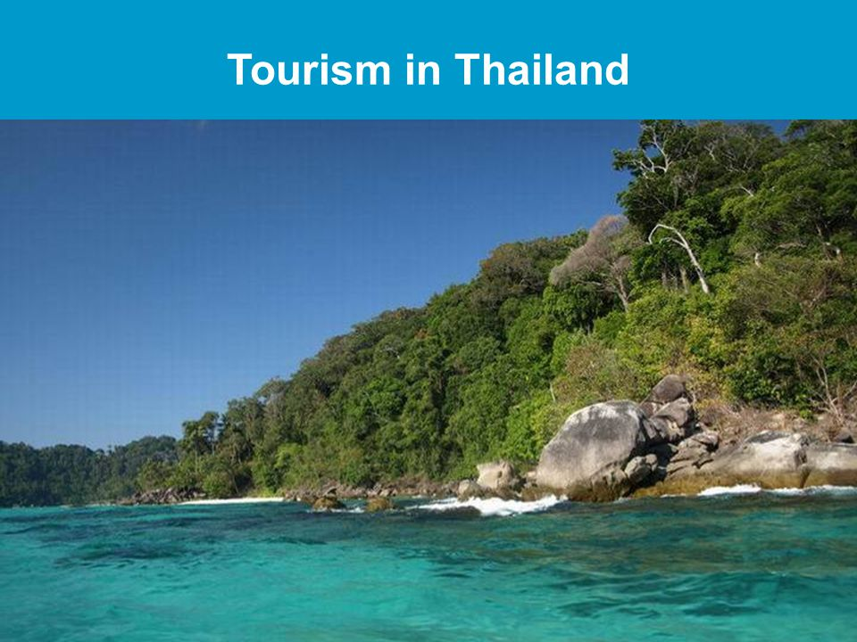 Tourism in Thailand 2 Slide 2