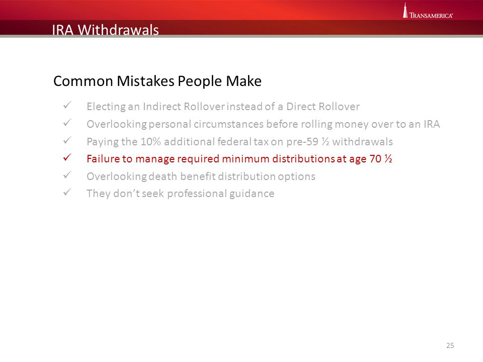 Common Mistakes People Make