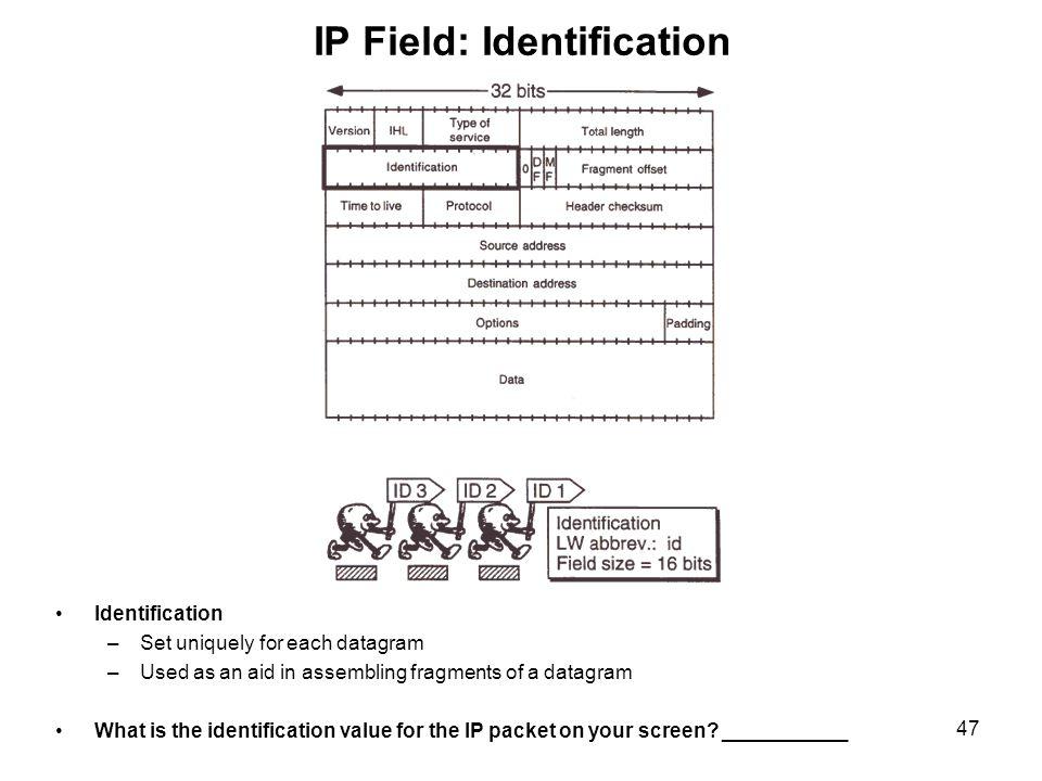 IP Field: Identification