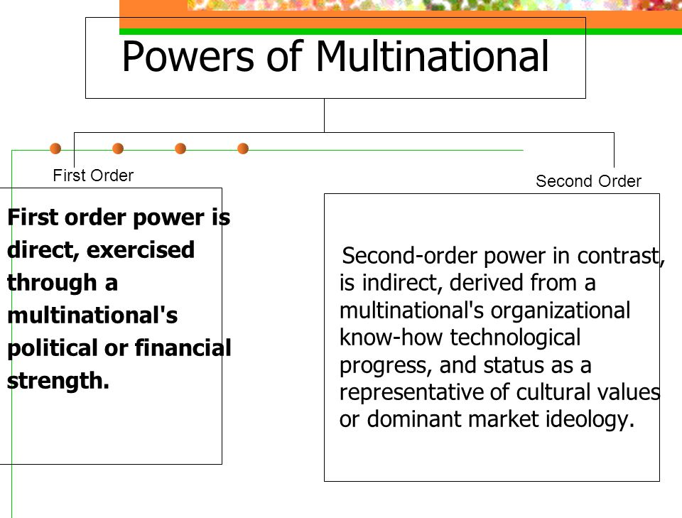 Powers of Multinational