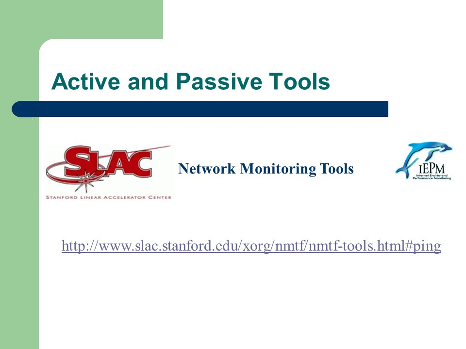 Active and Passive Tools