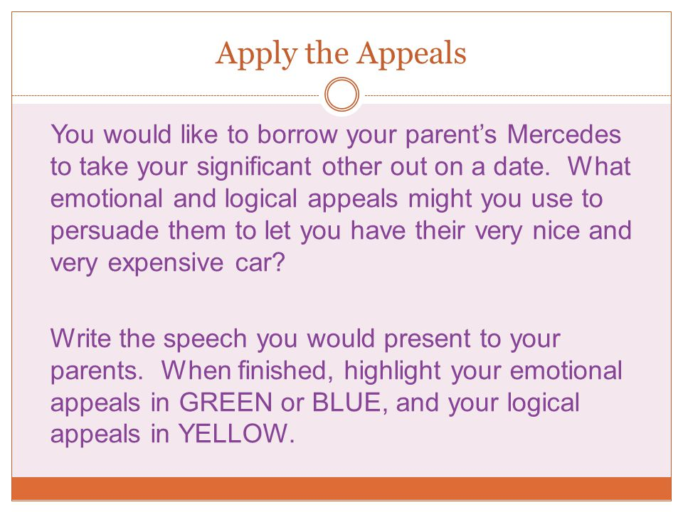 Apply the Appeals