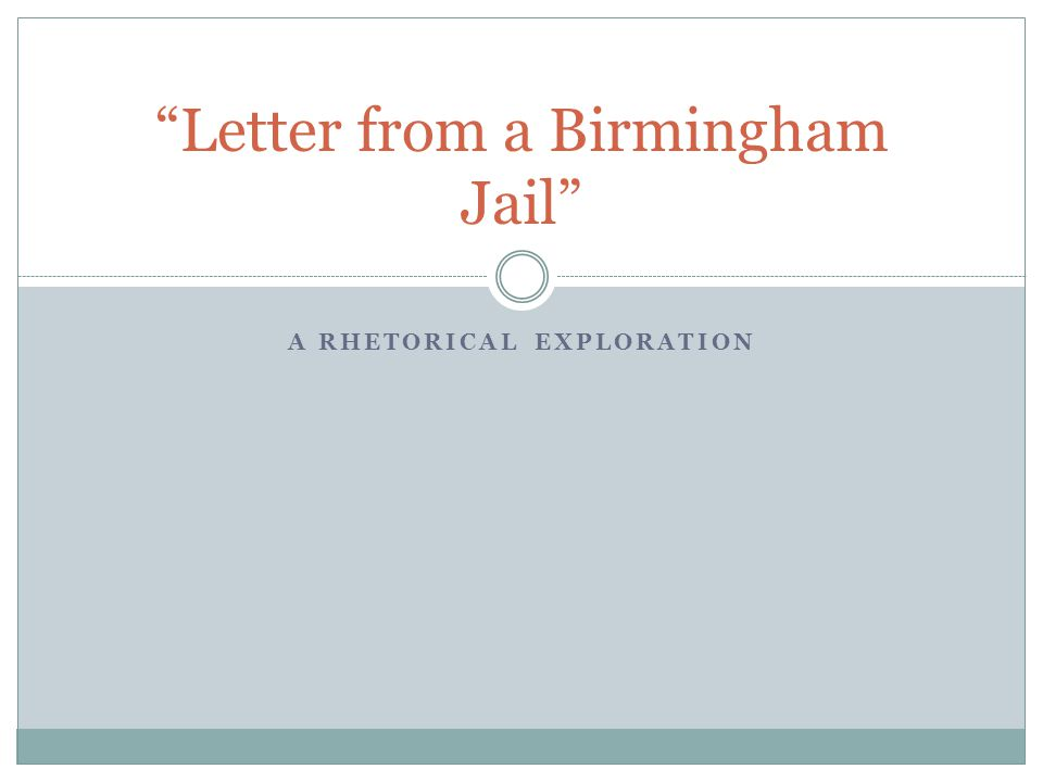 Write my letter from birmingham jail essay topics